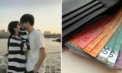 Man Puzzled Over Why His Cash Never Finishes, Finds Fiancee Secretly Stuffing Money in Wallet - WORLD OF BUZZ 1