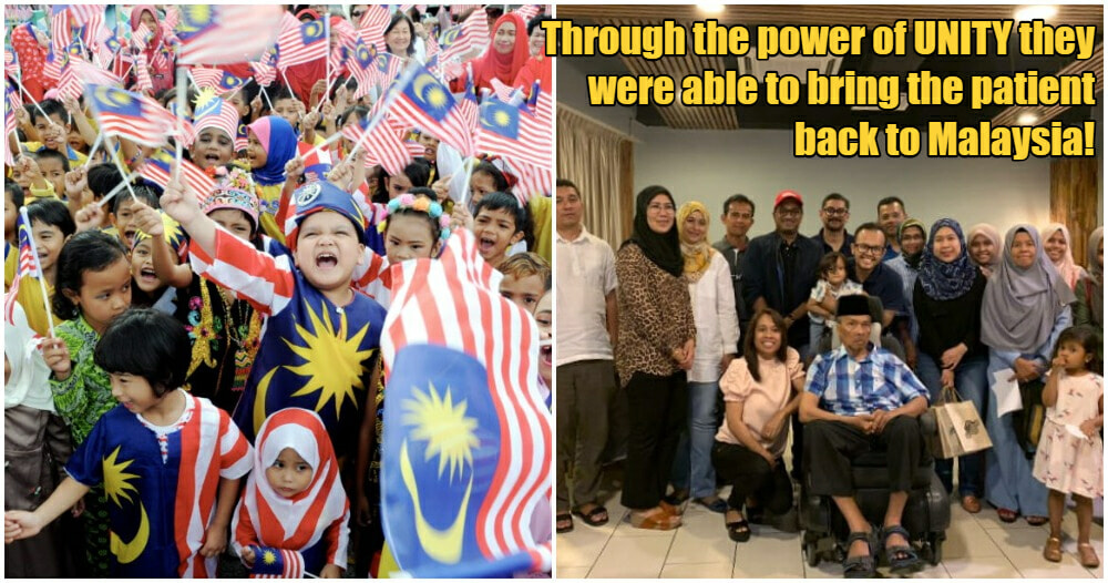Man Shares Touching Story of How the London M'sian Community Came Together to Help Bring Family Home - WORLD OF BUZZ