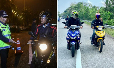 Mat Rempits Beware! Police Says They Can Confiscate Motorcycles That Have Been Modified Illegally - WORLD OF BUZZ