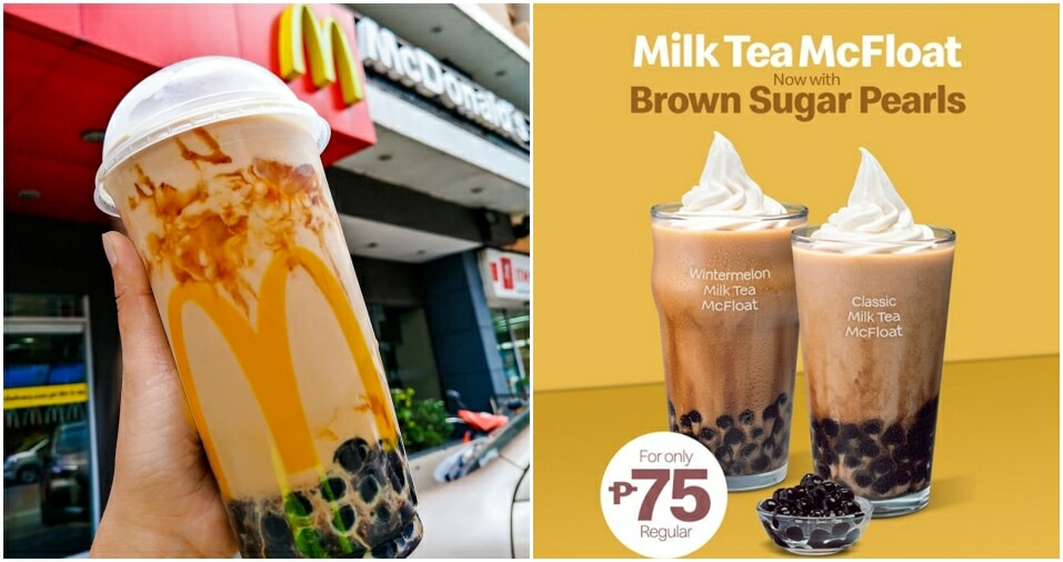Mcdonald's Is Legit Selling Bubble Tea In The Philippines And M'sians Want Some Too! - World Of Buzz