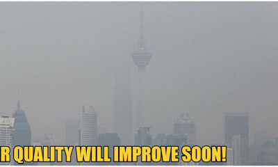 Meteorological Dept: Air Quality To Improve By Next Week, Haze Will Probably Be Gone In 2 Weeks - WORLD OF BUZZ