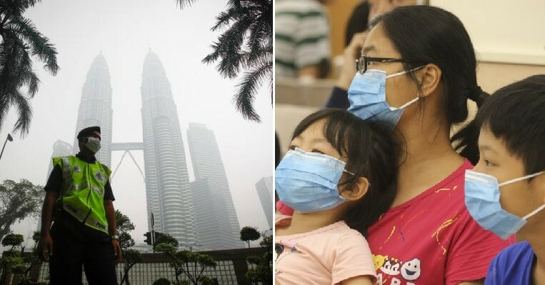 MOH: Haze is So Bad, The Amount of People Falling Sick Has Increased Up to 30% - WORLD OF BUZZ 1
