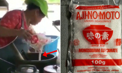 Video Shows Thai Vendor Pouring Half a Sack of MSG Into - WORLD OF BUZZ