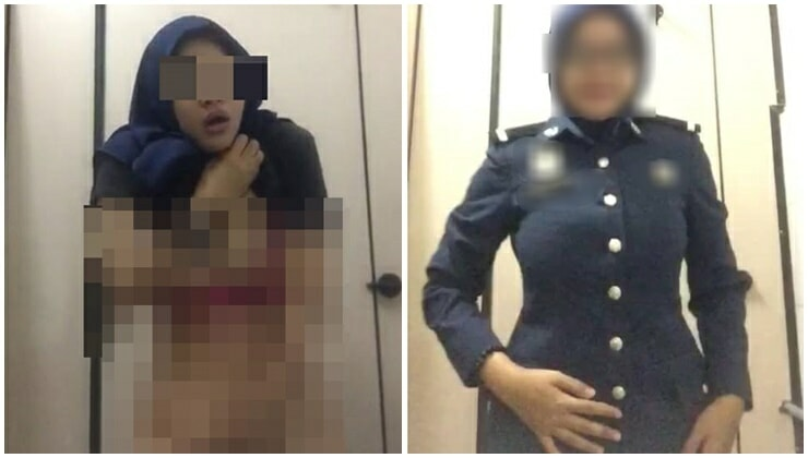 M'sian Custom Bureau Official Films Herself Masturbating, Netizens In Shock - WORLD OF BUZZ