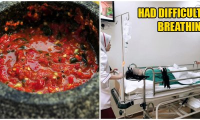 M'sian Lady Admitted Into Hospital and Suffers Gastric Problems After Eating Too Much Spicy Food - WORLD OF BUZZ 1