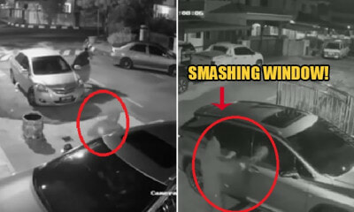 M'sian Woman Ambushed By 5 Armed Robbers While She Was Parking Her Car in Banting Home - WORLD OF BUZZ 7