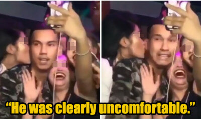 M'sian Woman Sexually Harasses Local Rapper by Grabbing & Kissing Him, Apologises After Backlash - WORLD OF BUZZ