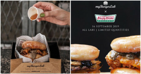 myBurgerLab Strikes Again, This Time It Will Be Krispy Kreme Donuts & We Want It! - WORLD OF BUZZ 2