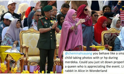 "Netizens Are Outraged After Troll Tells Permaisuri Agong To ""Sit Down & Act Like A Queen"" - WORLD OF BUZZ 8"