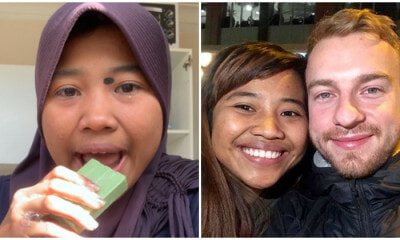 Soap Eating Indonesian Lady Get Whi - WORLD OF BUZZ