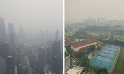 [Photos] The Haze Is So Bad in Malaysia That Even KL Tower & KLCC Are Barely Visible - WORLD OF BUZZ 4