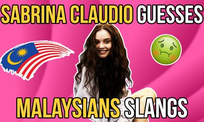 Sabrina Claudio Guesses Malaysian Slangs - WORLD OF BUZZ
