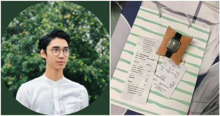 Sarawak Student Starts Fund To Buy Mak Cik Cleaner A New Watch, Collects Enough Donations To Buy Other Cleaners Groceries! - WORLD OF BUZZ 2