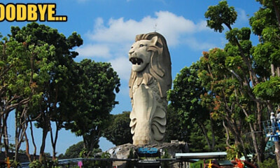 Singapore's Largest Merlion Statue will be Demolished after 20 October 2019 - WORLD OF BUZZ