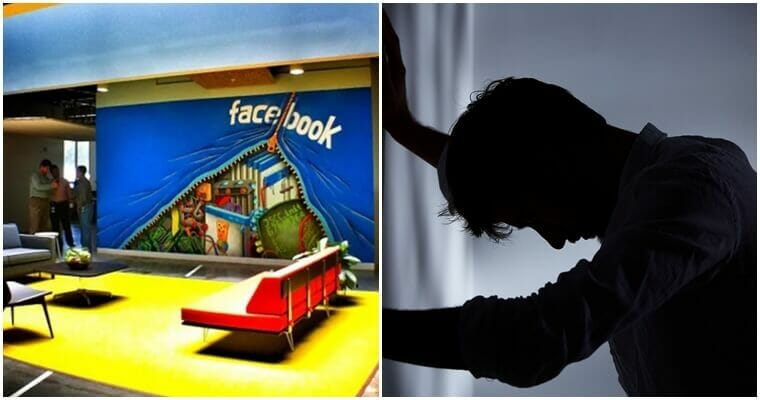 Stress Deprived Facebook Employee Commit Suicide In At Company's HQ - WORLD OF BUZZ 1