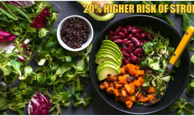 Study: Vegans & Vegetarians May Have A Higher Chance Of Getting Stroke Than Meat Eaters - World Of Buzz