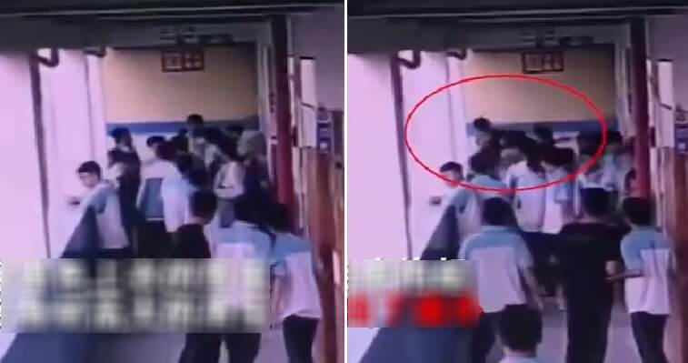 Teen Student Allegedly Cannot Tahan School Bully Anymore, Throws Him Off Building's 4th Floor - WORLD OF BUZZ 2