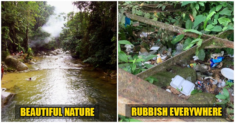 The Ugly Side of Malaysians Simply Throwing Their Rubbish and Not Even CARING About It - WORLD OF BUZZ