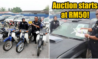 There'll Be a JPJ Lelong on 105 Vehicles with Prices Starting From RM50 This Sept 25! - WORLD OF BUZZ 4