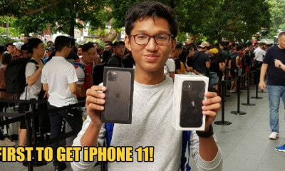 This 17yo Malaysian Student Is The First Person to Buy an iPhone 11 in Singapore - WORLD OF BUZZ 2