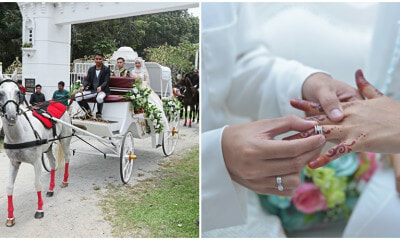 This Malaysian Woman Got A RM300,00 Princess Wedding With A Castle and Carriage! - WORLD OF BUZZ