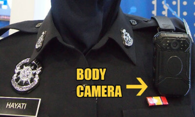Tun M Agrees Cells Should Have CCTVs & Enforcement Officers Equipped with Body Cameras - WORLD OF BUZZ 1