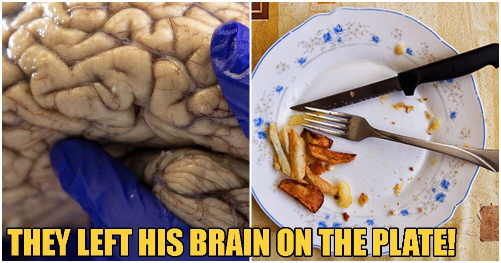 Two Men Kill 24yo M'sian Gangster, Extracts His Brains & Leaves it On His Dinner Plate - WORLD OF BUZZ
