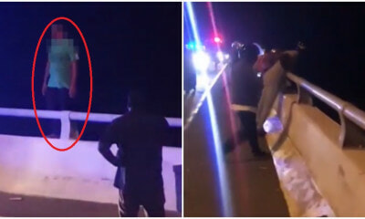 Watch: M'sian Mum Jumps To Her Death Off Banting Bridge After Arguing With Her Son - WORLD OF BUZZ 3