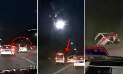 Watch: Selfish Motorist Knock Ambulance Off Road - WORLD OF BUZZ