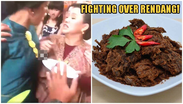 Watch: Two Women Start Getting Physical At Wedding Reception Fighting Over Rendang - WORLD OF BUZZ 2