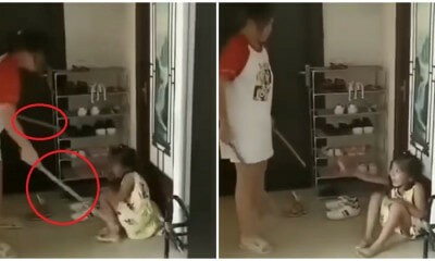 Woman Filmed Hitting And Kicking Children Using Rod Despite Their Desperate Cries For Her To Stop - WORLD OF BUZZ 1