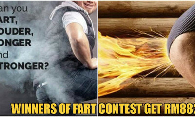 WTF?! The World's First Ever FARTING Competition Lets Winners Receive Up To RM882 Ringgit - WORLD OF BUZZ