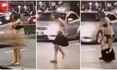 31yo Woman Arrested For Stripping Naked In The Middle Of The Road After Fighting Taxi Driver - WORLD OF BUZZ