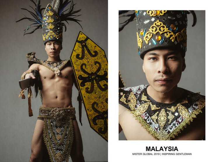 37 Hotties Collected Around The Globe, Dressed In Their National Costume, And Slaying It. - WORLD OF BUZZ 15