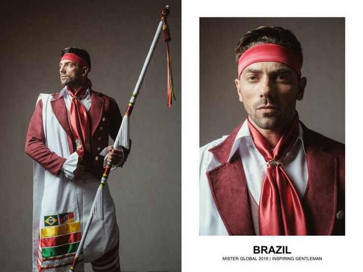 37 Hotties Collected Around The Globe, Dressed In Their National Costume, And Slaying It. - WORLD OF BUZZ