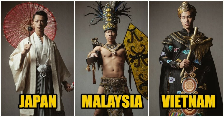 38 Hunks Wore in Their National Costumes For International Pageant & We're Thirsty - WORLD OF BUZZ