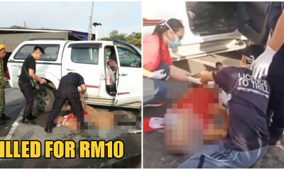 62yo S'wakian Man Brutally Slashed To DEATH By Beggar When He Refused To Give Him RM10 - WORLD OF BUZZ 1
