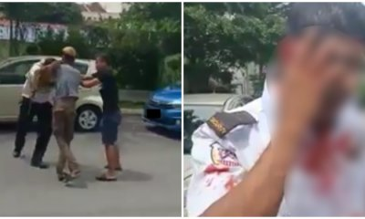 M'sian Man Illegally Parks In OKU Spot, Beats Up Foreign Guard Because He Got Clamped - WORLD OF BUZZ