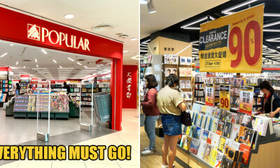 POPULAR Bookstore is Having Their Annual Clearance Sale Until 6 Oct & Everything Must Go! - WORLD OF BUZZ