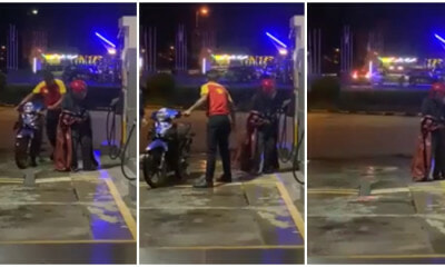 A Man 'merajuk' After Being Given Ron97 Instead Of Ron95 To Fuel His Motorbike - World Of Buzz 1
