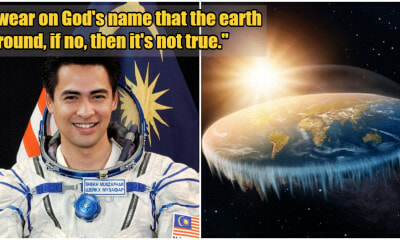 Angkasawan Negara Asked To Swear on God's Name That The Earth Is Round To Be Believable - WORLD OF BUZZ 3
