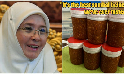 Belacan Diplomacy: Permaisuri Agong Send Jars Of Sambal Belacan To SG Founding Family - WORLD OF BUZZ