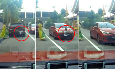 Video: Horrifying Moment When Car Runs Over Boy Who Ran Across the Road Without Looking - WORLD OF BUZZ