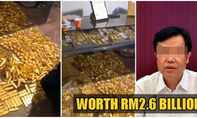 Corrupt Politician Caught Hiding 13,500kg of Gold Worth RM2.6 BILLION In His Mansion - WORLD OF BUZZ