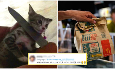 Cute Mother Threaten To Cook Daughter's Kitty If She Doesn't Tapau Food Back Home - WORLD OF BUZZ 8