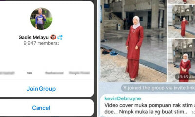 Dirty Telegram Group Sharing Pictures of M'sian Girls Without Consent Goes Viral, Gets Bombed by Netizens - WORLD OF BUZZ 4