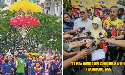 DPM: Putraja Balloon Explosion Maybe Due to Organizers Mixing Helium with Flammable Gas to Cut Costs - WORLD OF BUZZ 1