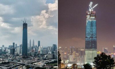 Exchange 106 Surpasses Twin Towers As The Tallest Building In Malaysia & Southeast Asia - WORLD OF BUZZ 2