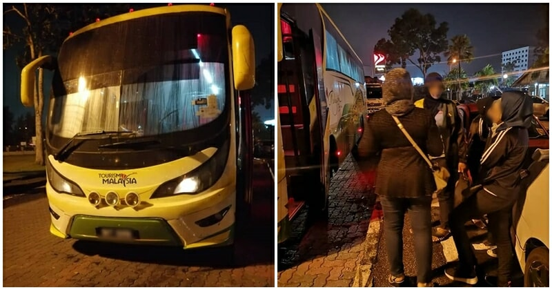 Express Bus Abandons Passengers At Roadside In Wee Hours Of The Morning - WORLD OF BUZZ 3