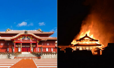 500yo Japanese Castle & World Heritage Site Ripped Apart After Unexpected Massive Fire - WORLD OF BUZZ